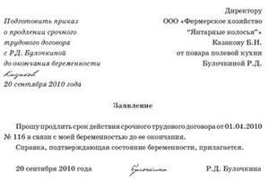 образец заявления на увольнение руководителя